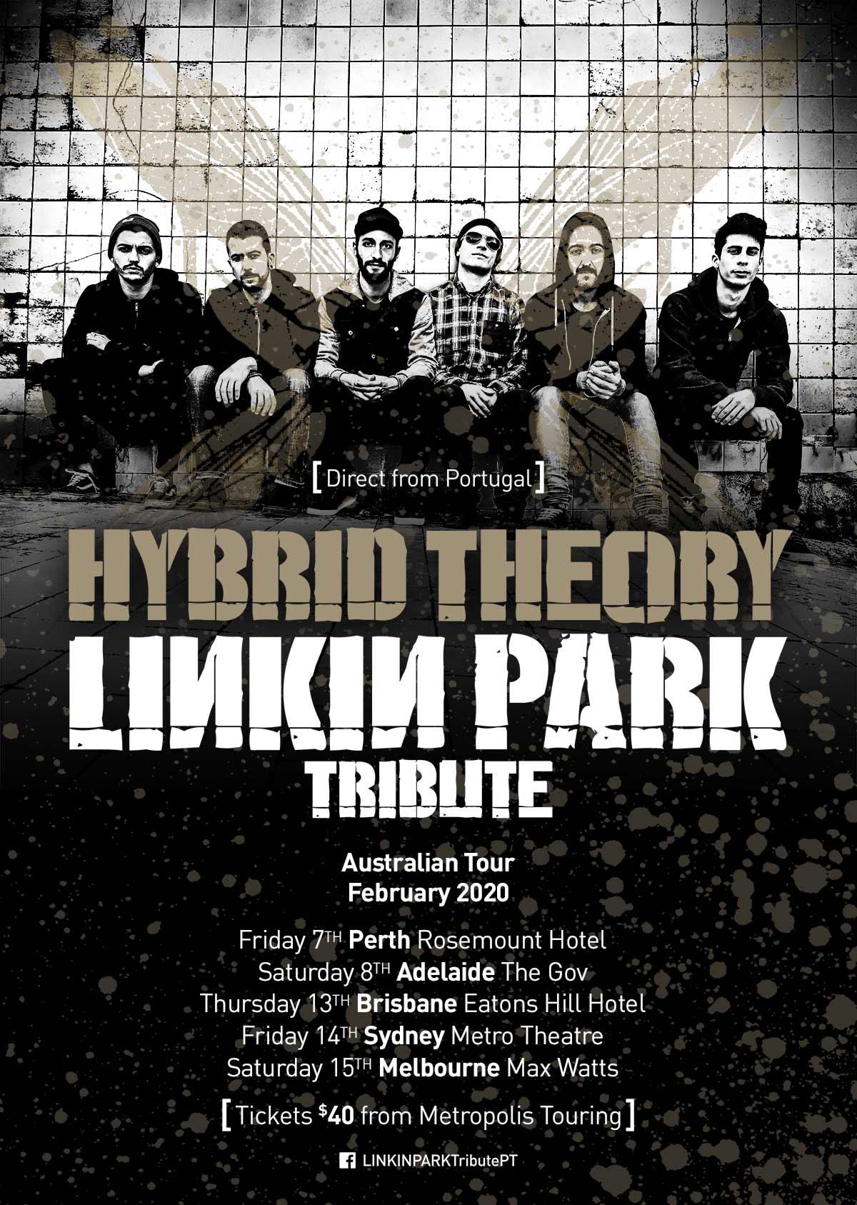 Linkin Park Us Tour 2020 Hybrid Theory (Linkin Park Tribute)